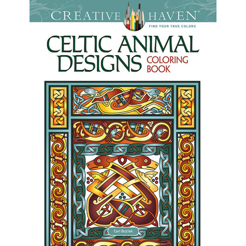 DOVER PUBLICATIONS COLORING BOOK: CELTIC ANIMAL DESIGNS