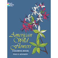 COLORING BOOK: AMERICAN WILD FLOWERS