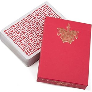 ELLUSIONIST ELLUSIONIST RED KNIGHTS PLAYING CARDS