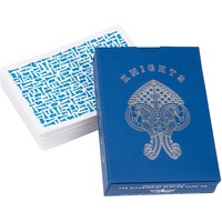 ELLUSIONIST BLUE KNIGHTS PLAYING CARDS