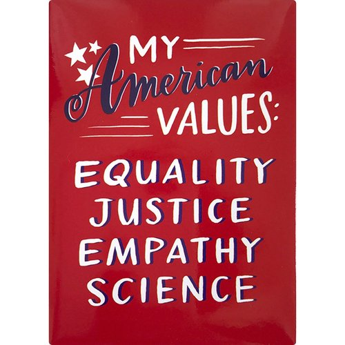 EM AND FRIENDS (FORMERLY EMILY MCDOWELL STUDIOS) MAGNET: AMERICAN VALUES