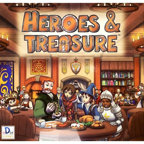 Davis & Daughters Games HEROES & TREASURE