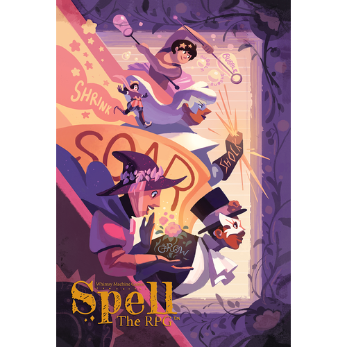 Whimsy Machine Games SPELL: THE RPG