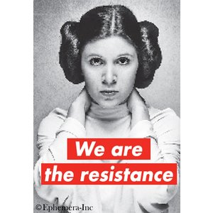 EPHEMERA MAGNET: WE ARE THE RESISTANCE