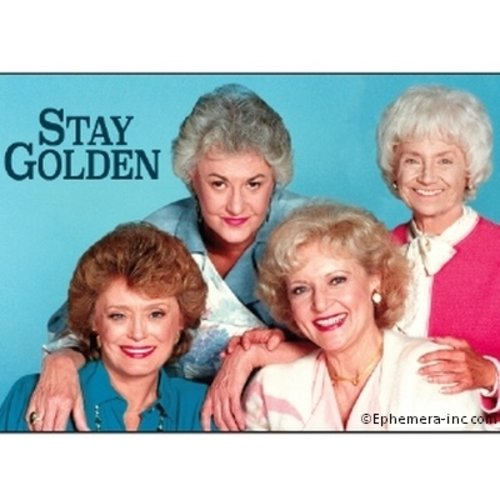 EPHEMERA MAGNET: STAY GOLDEN GIRLS