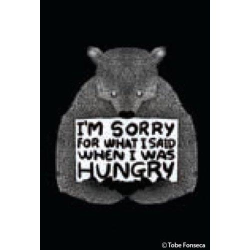 EPHEMERA MAGNET: I'M SORRY FOR WHAT BEAR