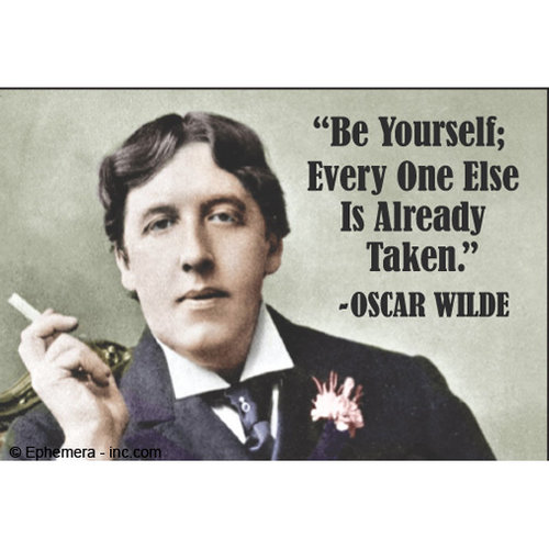 EPHEMERA MAGNET: BE YOURSELF