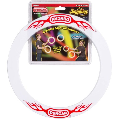 TOYSMITH GROUP JUGGLING RINGS SET (WITH DVD)