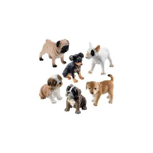 Toysmith BIN-PUPPY DOGS & KITTY CATS FIGURES
