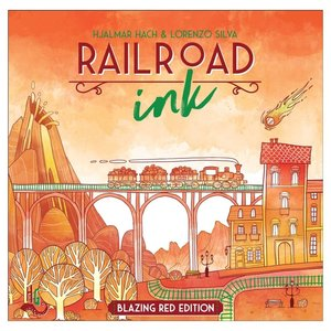 HORRIBLE GUILD GAME STUDIO RAILROAD INK - BLAZING RED EDITION