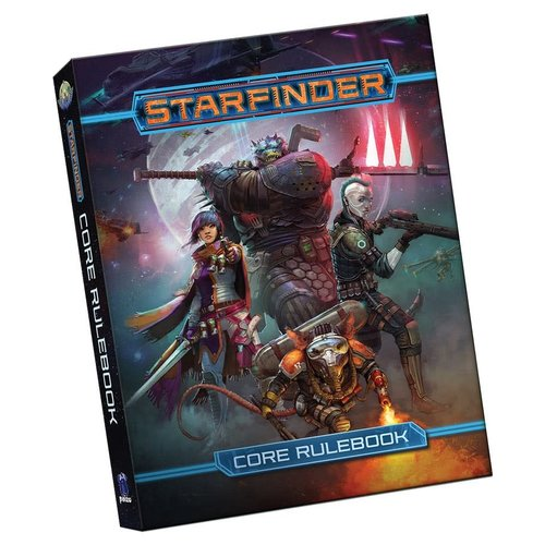 Paizo Publishing STARFINDER: CORE RULES (POCKET EDITION)