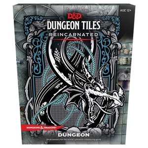 Wizards of the Coast D&D 5E: DUNGEON TILES REINCARNATED - DUNGEON
