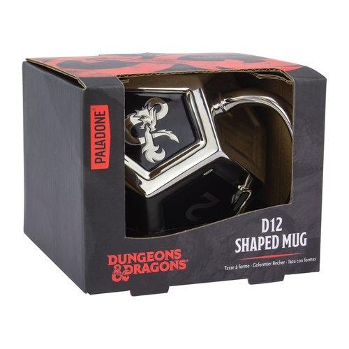 Paladone MUG: DUNGEONS & DRAGONS D12