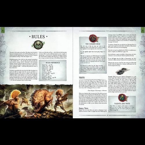 Cubicle 7 WARHAMMER FANTASY RPG: 4E RULEBOOK