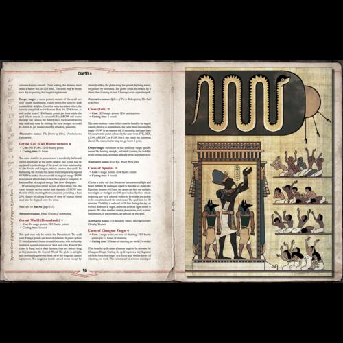 Chaosium CALL OF CTHULHU: THE GRAND GRIMOIRE OF CTHULHU MYTHOS MAGIC