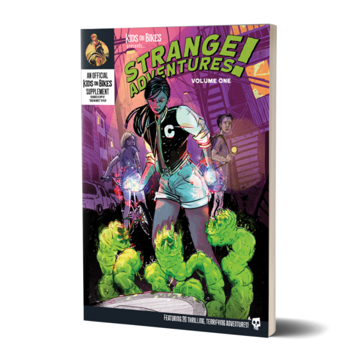 Renegade Games Studios KIDS ON BIKES: STRANGE ADVENTURES VOLUME 1