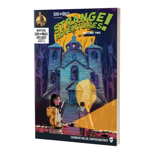 Renegade Games Studios KIDS ON BIKES: STRANGE ADVENTURES VOLUME 2