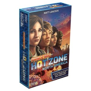 Z-Man Games PANDEMIC: HOT ZONE - NORTH AMERICA