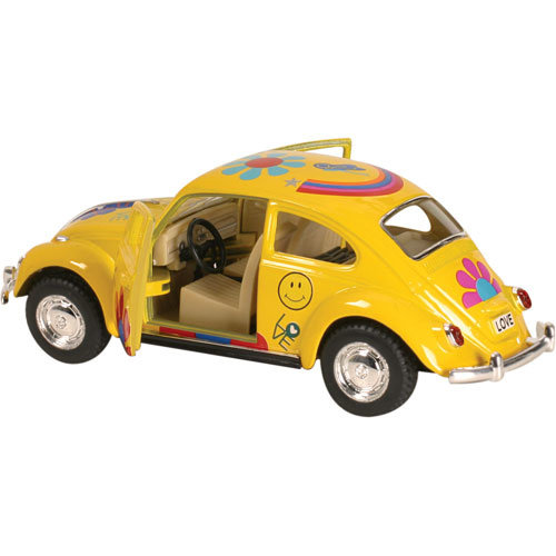 TOYSMITH GROUP FLOWER POWER VW BEETLE