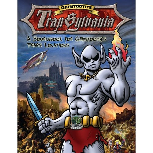 Goodman Games DUNGEON CRAWL CLASSICS:  GRIMTHOOTH'S TRAPSYLVANIA