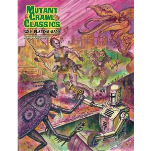Goodman Games MUTANT CRAWL CLASSICS