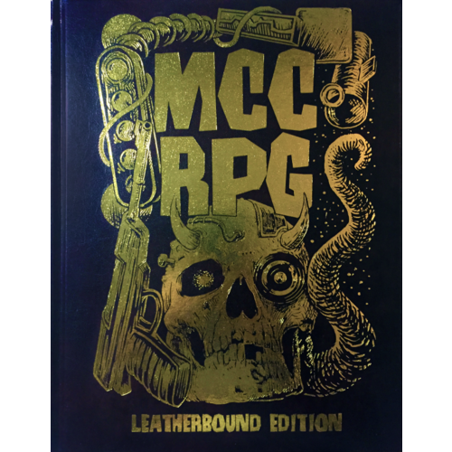 Goodman Games MUTANT CRAWL CLASSICS - LEATHERBOUND EDITION
