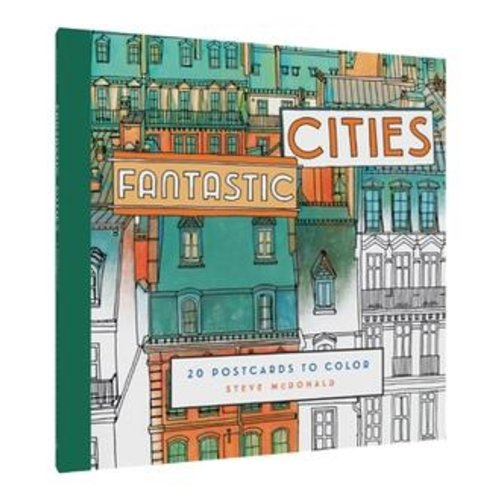 CHRONICLE BOOKS COLORING BOOK: FANTASTIC CITIES