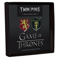 PIN SET: GAME OF THRONES LANNISTER/GREYJOY