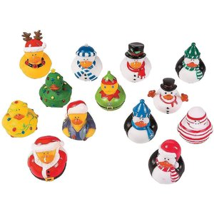 TOYSMITH GROUP CHRISTMAS HOLIDAY DUCK ASSORTMENT - Random Choice!