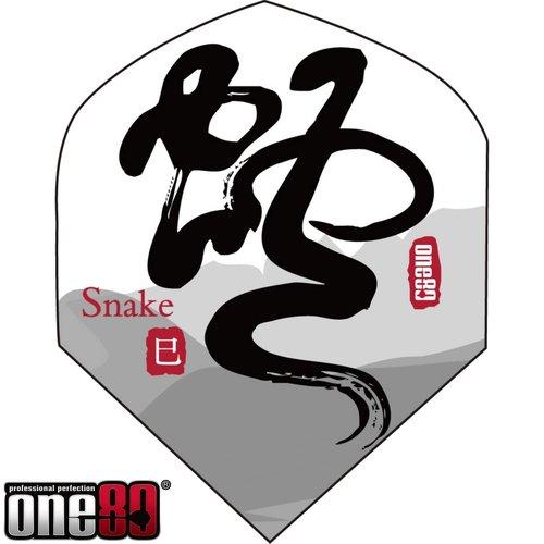 MAGIC/A-Z DARTS FLIGHT CHINESE ZODIAC SNAKE (Set of 3)