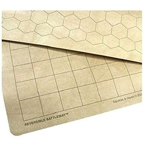 """Chessex REVERSIBLE BATTLEMAT - 1.5"""" Squares & Hexes (Factory-Second)"""