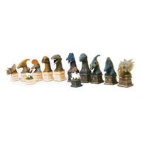 "CHESSMEN 4"" DINOSAUR RESIN"