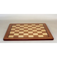 "CHESS BOARD 17.25"" PADAUK & MAPLE w/ 1.75"" SQ"
