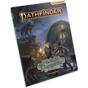 Paizo Publishing PATHFINDER 2ND EDITION: ADVENTURE - FALL OF PLAGUESTONE