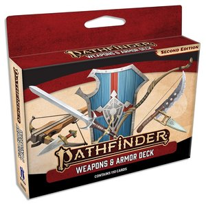 Paizo Publishing PATHFINDER 2ND EDITION: WEAPONS & ARMOR DECK