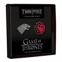 PIN SET: GAME OF THRONES STARK/TARGARYEN