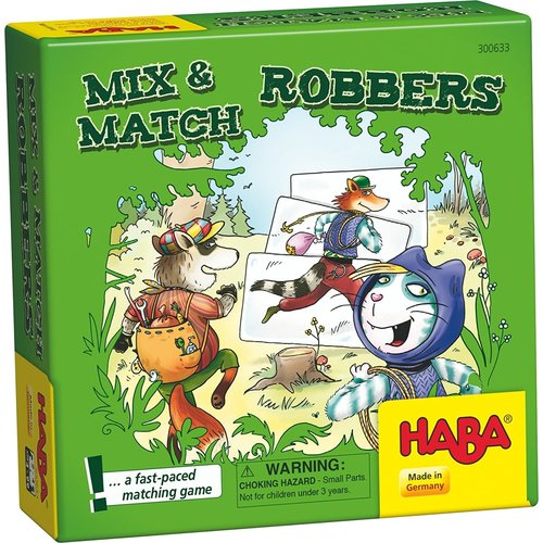 HABA USA MIX & MATCH ROBBERS