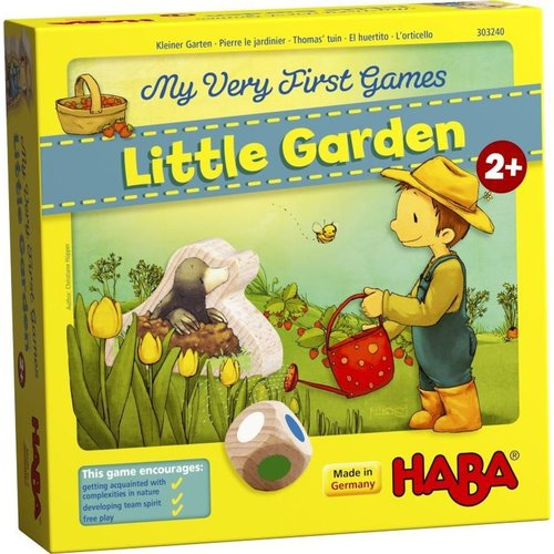 HABA USA MY VERY FIRST GAMES: LITTLE GARDEN