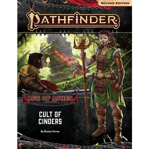 Paizo Publishing PATHFINDER 2ND EDITION ADVENTURE PATH #146: AGE OF ASHES 2 - CULT OF CINDERS