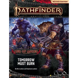 Paizo Publishing PATHFINDER 2ND EDITION ADVENTURE PATH #147: AGE OF ASHES 3 - TOMORROW MUST BURN