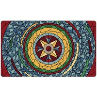 PLAYMAT: STAINED GLASS - RED