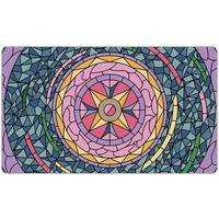 PLAYMAT: STAINED GLASS - PINK