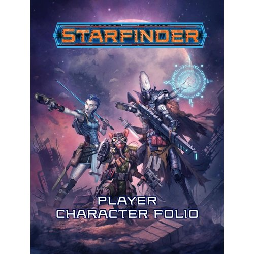 Paizo Publishing STARFINDER PLAYER FOLIO