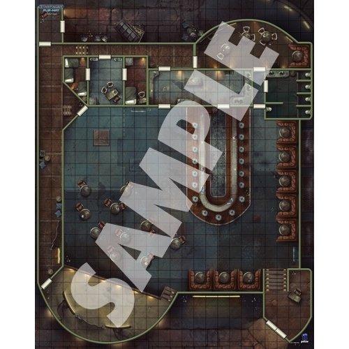 Paizo Publishing STARFINDER FLIP-MAT CANTINA