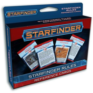 Paizo Publishing STARFINDER RULES REF. CARDS