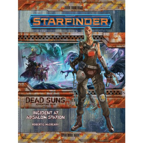 Paizo Publishing STARFINDER ADVENTURE PATH DEAD SUNS #1: INCIDENT AT ABSALOM STATION