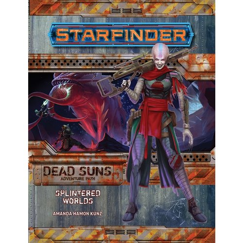 Paizo Publishing STARFINDER ADVENTURE PATH DEAD SUNS #3: SPLINTERED WORLDS