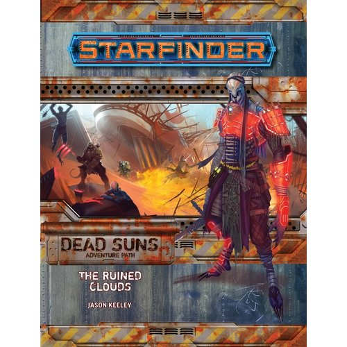 Paizo Publishing STARFINDER ADVENTURE PATH DEAD SUNS #4: THE RUINED CLOUDS