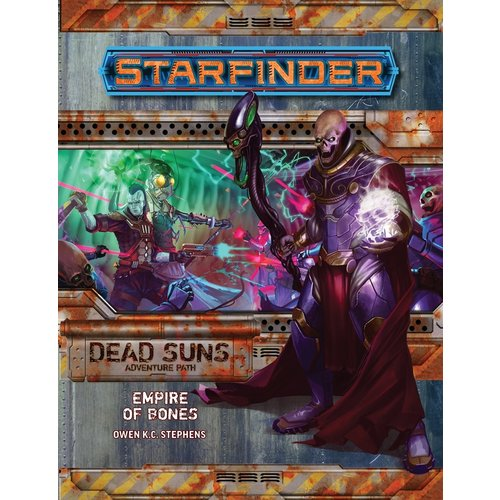 Paizo Publishing STARFINDER ADVENTURE PATH DEAD SUNS #6: EMPIRE OF BONES