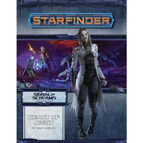 Paizo Publishing STARFINDER ADVENTURE PATH 12: SIGNAL OF SCREAMS 3 - HEART OF NIGHT